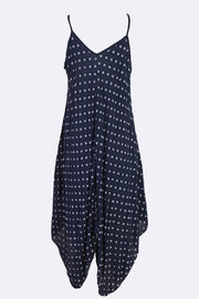 Alysha Spot Print Sleeveless V Neck Hanky Dress - Love My Fashions - Womens Fashions UK