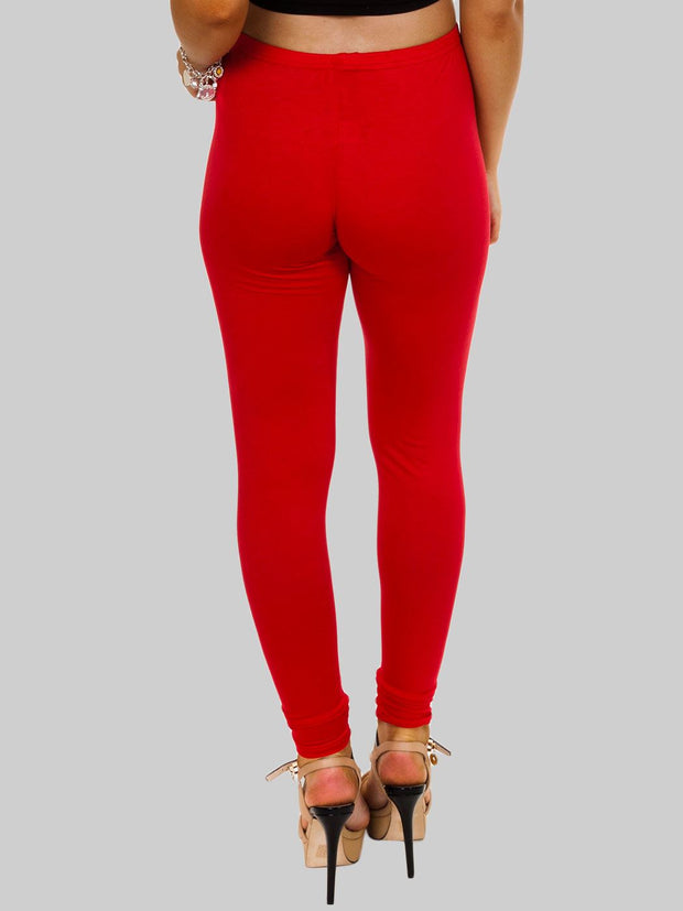 Maja Plain Full Length Leggings_grwo