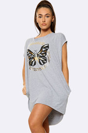 Italian Golden Butterfly Top
