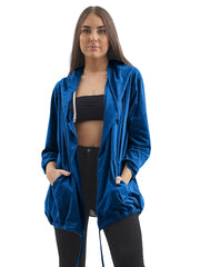Ciera Sequin Angel Wings Hooded Cardigan - Love My Fashions - Womens Fashions UK