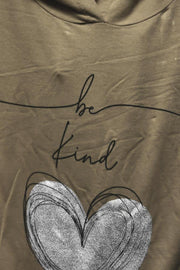 Italian Be Kind Heart Foil Print 2 Piece Set