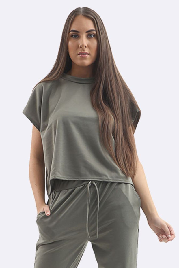 Parker Short Sleeve Tracksuit - Love My Fashions - Womens Fashions UK