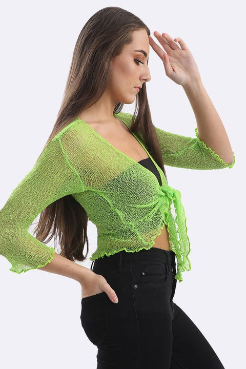Ashlee Viscose Light Weight Cropped Shrug - Love My Fashions - Womens Fashions UK