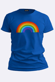 Unisex Rainbow Short Sleeve Summer Top_GRWO