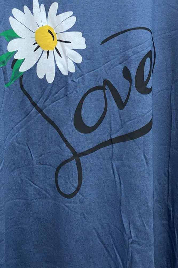 Italian Daisy Love Loungewear Set