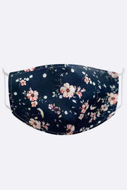 Buttercup Floral Print Fashion Face Mask Cover