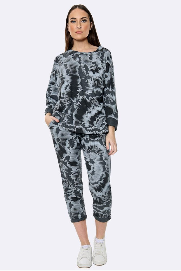 Italian Circle Tie Dye Loungewear Set