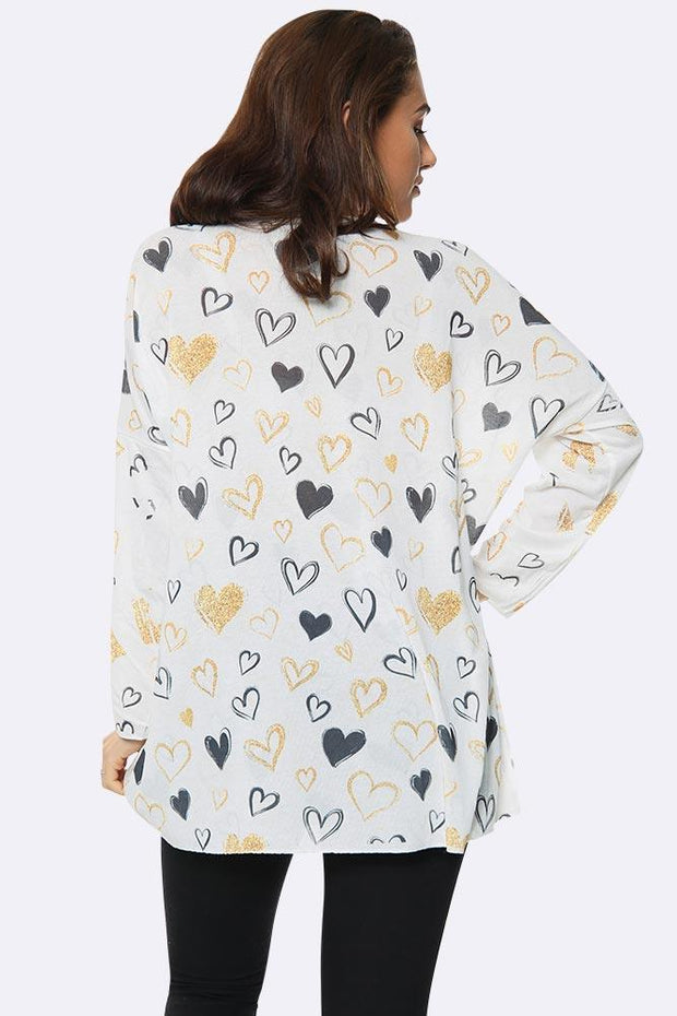 Italian Fashion Love Pug Print Tunic Top