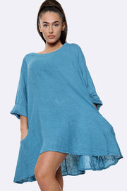 Italian Plain Lagenlook Top