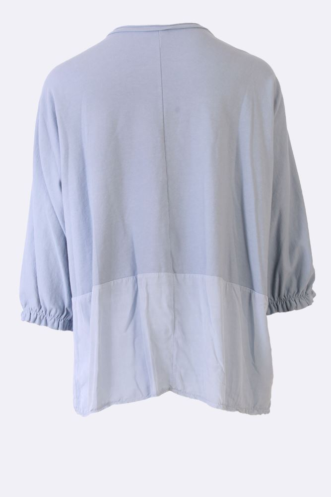 Brandy Cotton Batwing Branch Applique Top - Love My Fashions - Womens Fashions UK