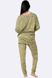 Italian Chill Out Gold Foil Logo Loungewear