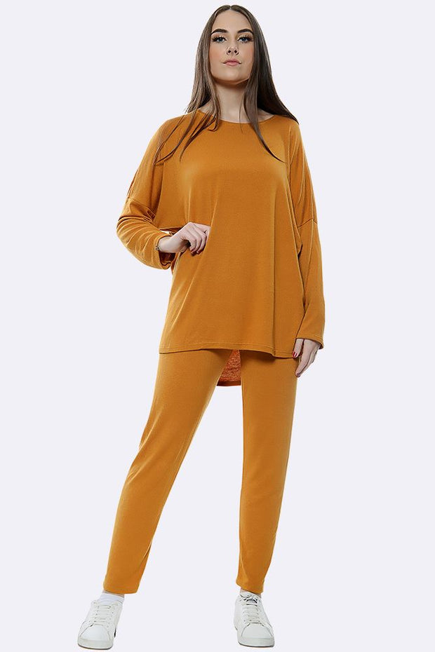 Plain Italian Ladies Tracksuit_GRWO