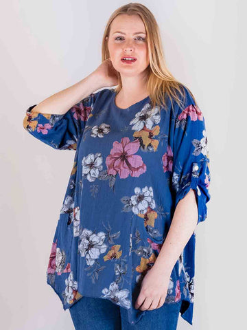 Avery Cotton Floral Top with Pockets - Love My Fashions - Womens Fashions UK