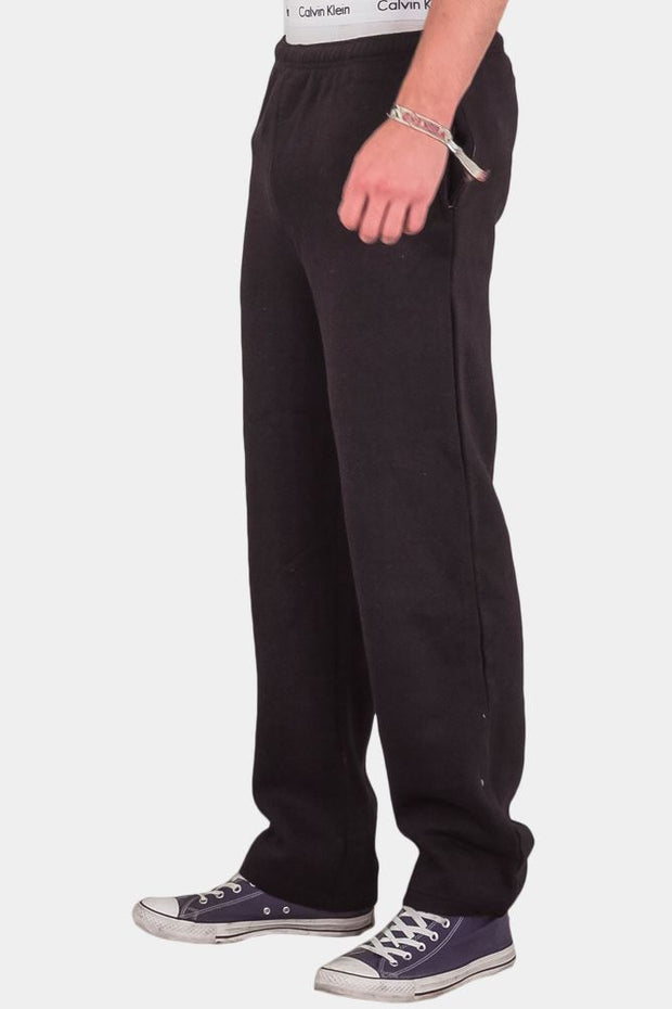 Fleece Open Ankle Joggers_grwo