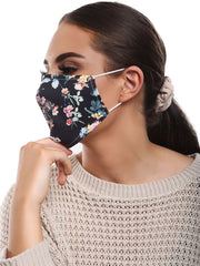 Blossom Spring Print Cotton Face Masks Cover