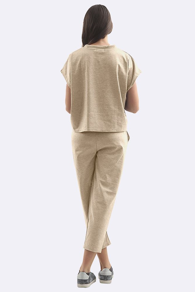 Short Sleeve Plain Tracksuits