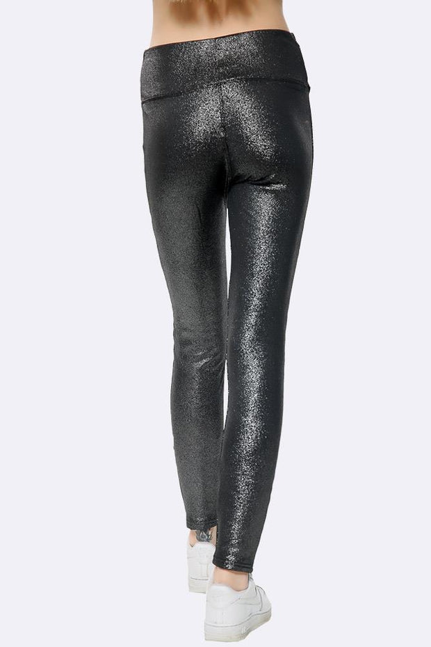 High Waist Glitter Legging
