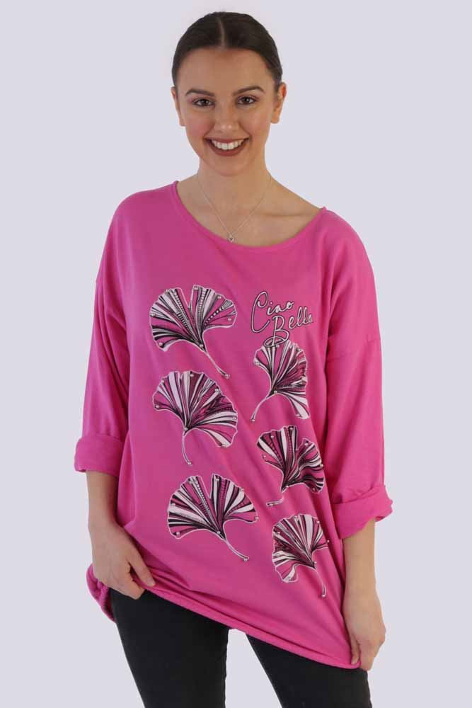 Dorothy Floral Ciao Bella Pearl Top - Love My Fashions - Womens Fashions UK