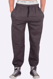 Elasticated Hem Drawstring Fleece Jogger