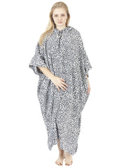 Odalys Printed Hooded Fleece Poncho Blanket - Love My Fashions - Womens Fashions UK