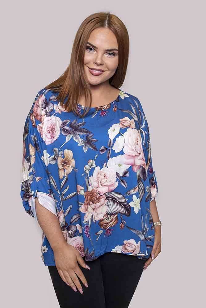 Makenzie Floral Batwing Top - Love My Fashions - Womens Fashions UK