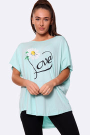 Italian Daisy Love Top