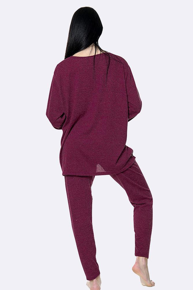 Italian Marl Triple Star Loungewear Set