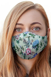 Floral Print Fashion Face Mask Cover
