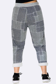 Sequare Print Ladies Jogger