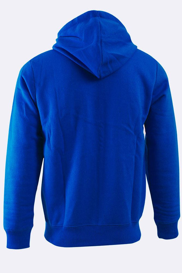 Mens Plain Zip-Up Hoodie