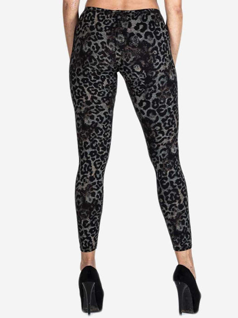 Alicia Leopard Print Legging - Love My Fashions - Womens Fashions UK