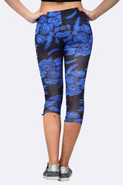 Milana Flower Print Full Length Leggings - Love My Fashions - Womens Fashions UK