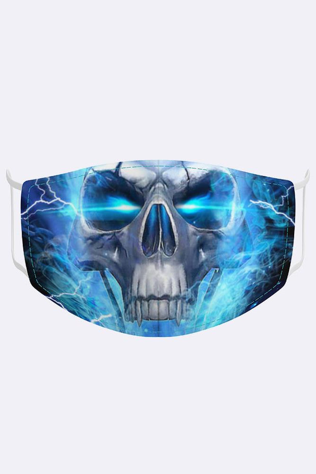 Skull Lightening Fashion Mask