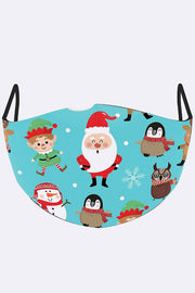 Christmas Print Face Mask Cover_grwo