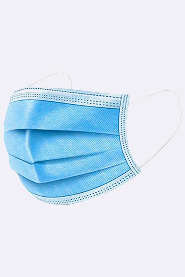 DISPOSABLE NON-SURGICAL MASK DUST BREATHABLE EARLOOP ANTIVIRAL 3 PLY FACE MASK