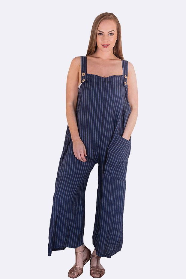 Brooke Striped Pocket Dungaree