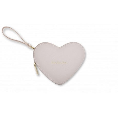 Love Heart Pouch Beige - Ilda London jewelry and accessories