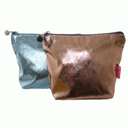 Metallic Bronze Pouch - Ilda London jewelry and accessories