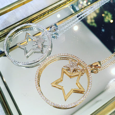 Star Pendant Necklace - Ilda London jewelry and accessories