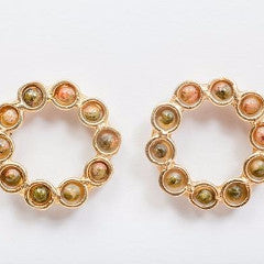 Mini Botero Earrings - Ilda London jewelry and accessories