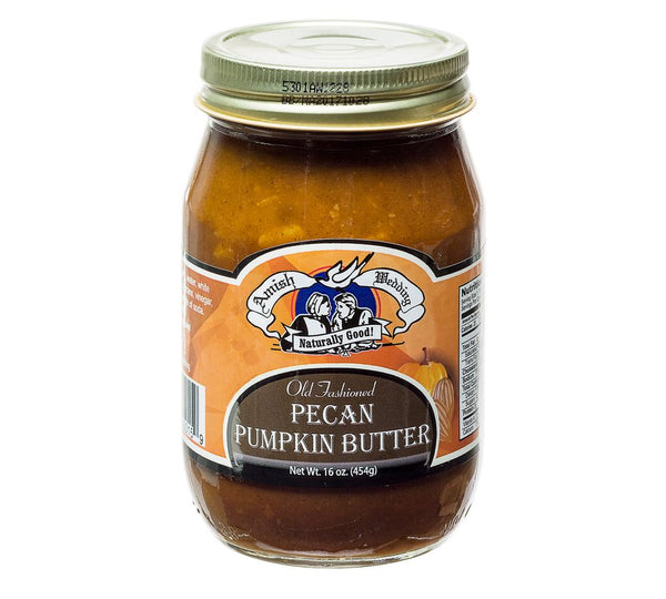 Amish Wedding Pecan Pumpkin Butter