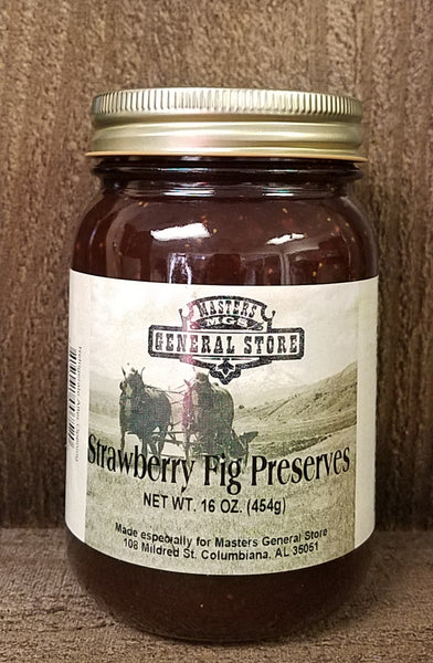 Masters General Store Strawberry Fig Preserves