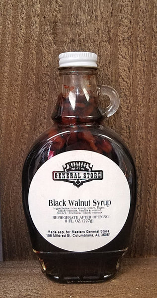 Masters General Store Black Walnut Syrup