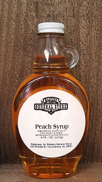 Masters General Store Peach Syrup