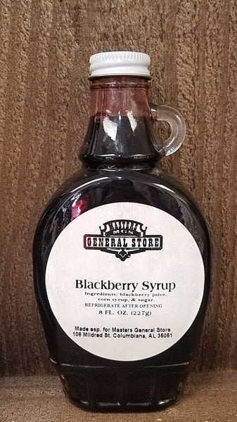 Masters General Store Blackberry Syrup