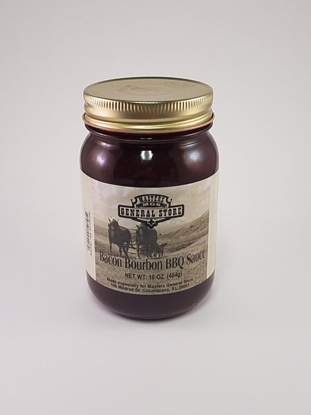 Masters General Store Bacon Bourbon BBQ Sauce