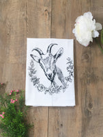 The Coin Laundry - Goat Cotton Kitchen Towel