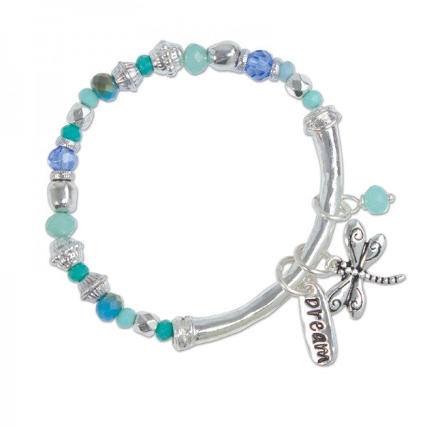 Dragonfly Stretch Bracelet - FREE SHIPPING