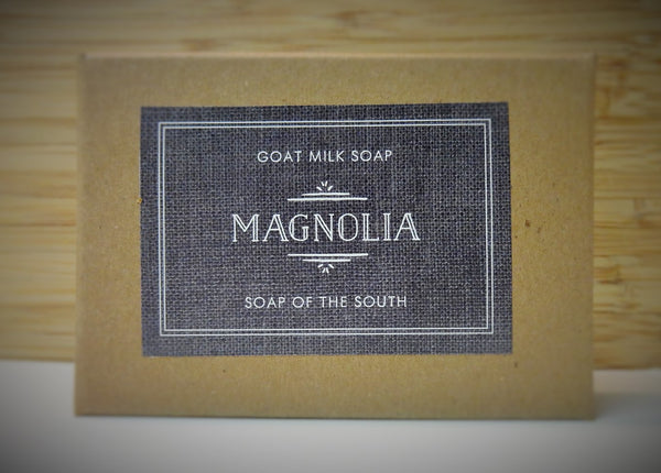 Soap of the South Goat Milk Soap - Magnolia - FREE SHIPPING