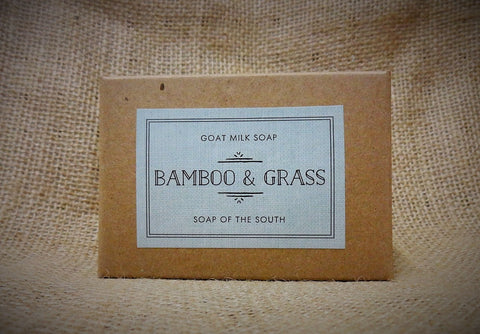 Soap of the South Goat Milk Soap -  Bamboo & Grass